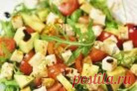 Салат из авокадо с помидорами и сыром - пошаговый рецепт с фото на Повар.ру