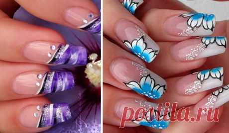 Как рисовать на ногтях акриловыми красками: 20 фото идей, мастер-класс
