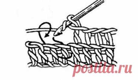 Вогнутый столбик крючком | Уроки вязания крючком и спицами для начинающих бесплатно, модели, схемы и описания с фото