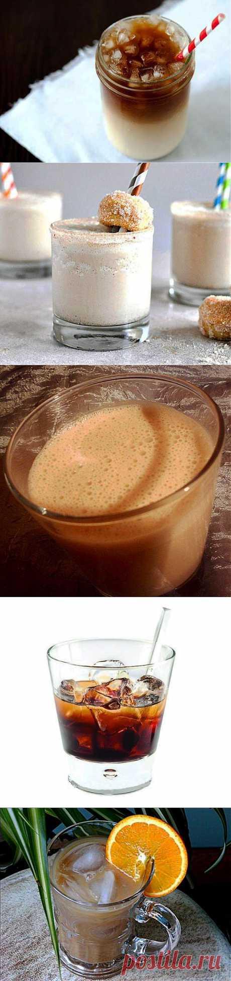 Рецепт 10 рецептов освежающих кофейных коктейлей с фото в домашних условиях