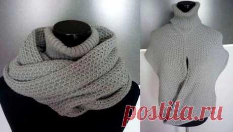 La bufanda el cuello por los rayos con la descripción: 16 modelos en los esquemas y el vídeo mk