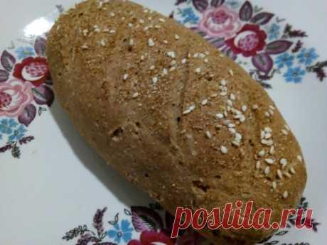 Хлеб из цельнозерновой муки, испечённый своими руками по простому рецепту, для худеющих | Похудеть? No problem | Яндекс Дзен