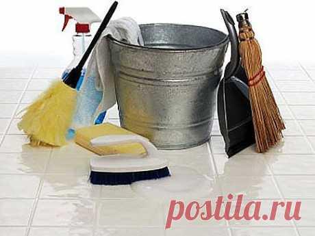 Вред тщательной уборки | Хитрости жизни