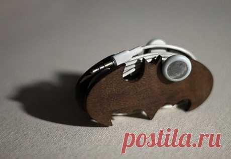 Распутанное дельце: 35 креативных способов хранить наушники - Ярмарка Мастеров - ручная работа, handmade