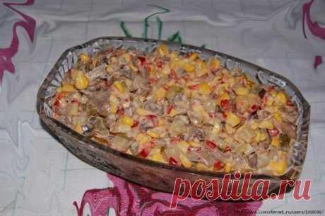 Этот салат нравится всем без исключения - Салат ″Екатерина″ Вкуснейший салат!