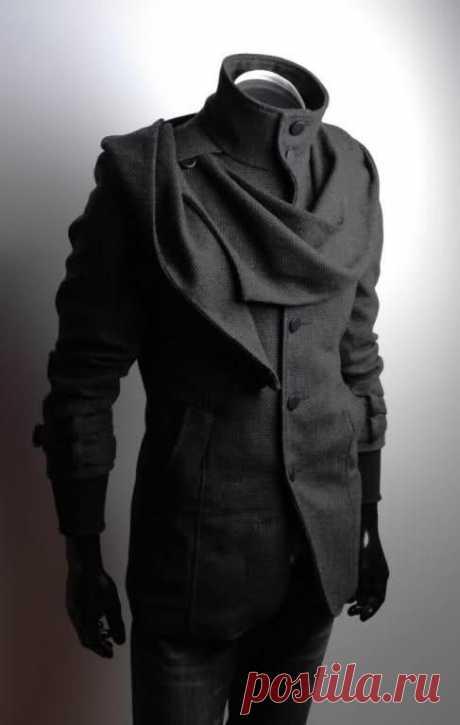 Креативное мужское пальто (подборка)