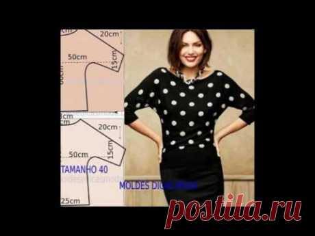 Простая блузка своими руками