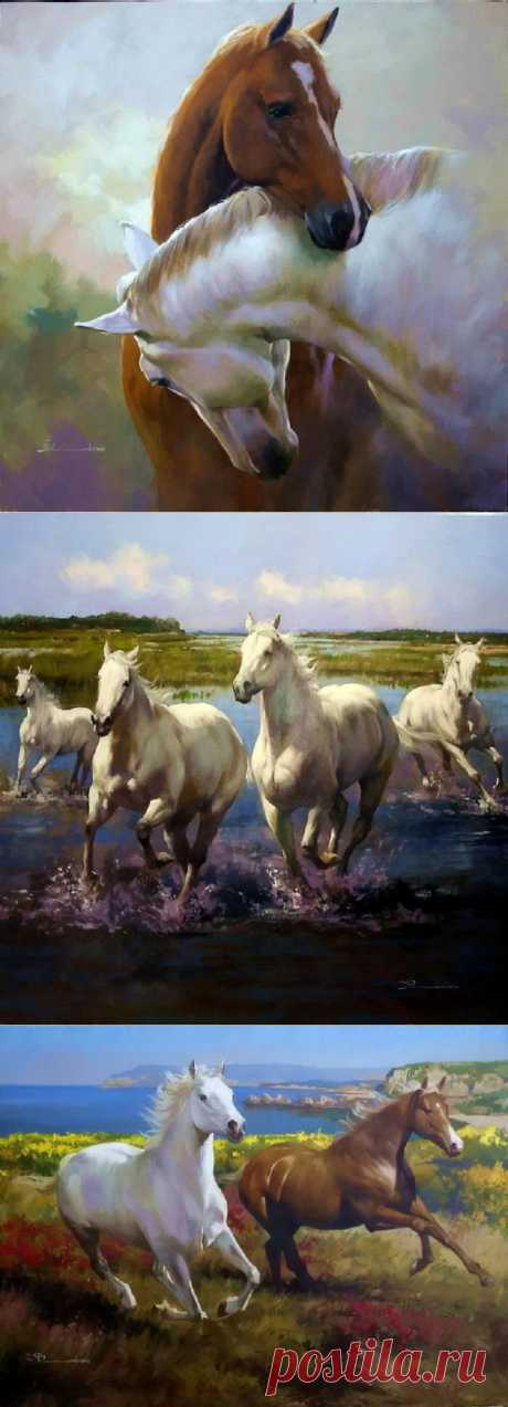 Кони мои, кони | Искусство