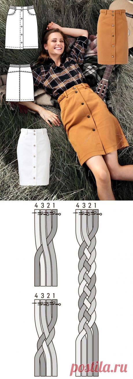 Декоративный плетёный пояс из ткани своими руками — Мастер-классы на BurdaStyle.ru