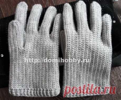 Вязание перчаток крючком