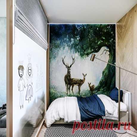 Камень в ванной, пробка на полу, мебель из дерева? Эко-стиль и тема природы в интерьере
