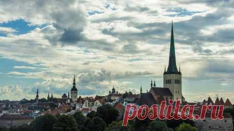 Прекрасный город Таллинн в фотографиях Александра Фролова - Путешествуем вместе