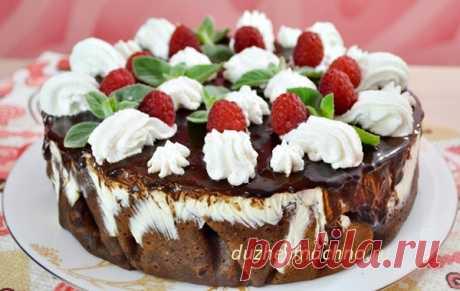 Фееричный желейно-блинный торт: и вкусно, и красиво, и освежает!