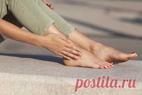 Устранение судорог и онемения в ногах