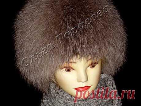 Вязаные шапочки с меховыми полосками — Рукоделие