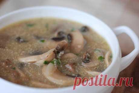 Как правильно приготовить грибной суп | EverydayMe Russia