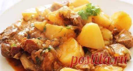 Топ-7 рецептов самого вкусного мяса с картофелем