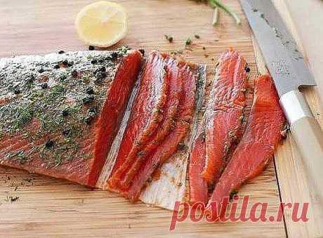 """Быстрый засол красной рыбы.Рецепт под фото. Ставьте """"Класс!"""", чтобы сохранить его на своей страничке"""