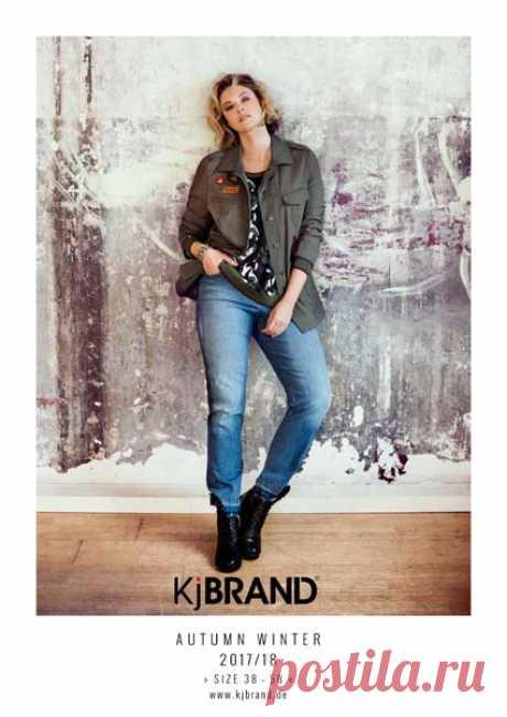 Каталог женской одежды больших размеров немецкого бренда KjBrand осень-зима  2017-2018 0b7c4756b55