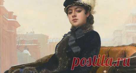 Кем была знаменитая «Неизвестная» с картины Ивана Крамского.