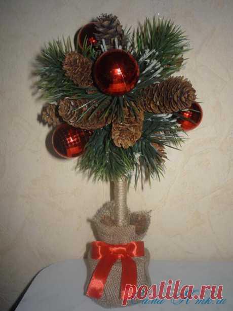 De Año Nuevo topiary de los chichones | Mí Mismo mk.ru