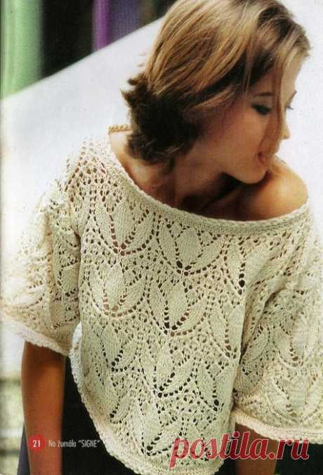 Блуза с оригинальным узором — Сделай сам, идеи для творчества - DIY Ideas
