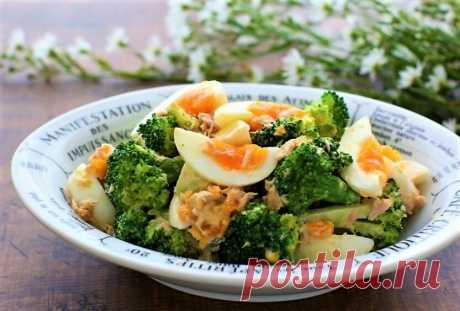 Салат с брокколи. Три рецепта | Поделки, рукоделки, рецепты | Яндекс Дзен