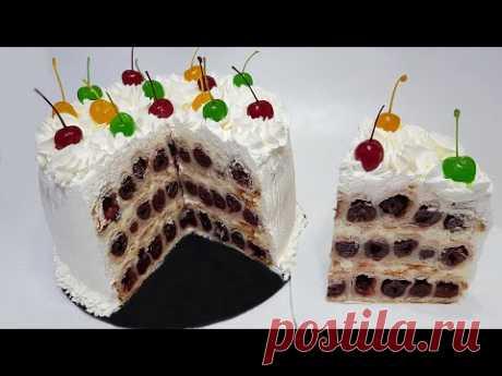 """ТОРТ ВИШНЁВАЯ ФАНТАЗИЯ (""""cherry fantasy"""" cake)"""