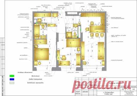 Интерьер квартиры в современном стиле 78 м?