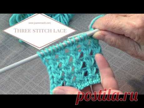 Three Stitch Lace