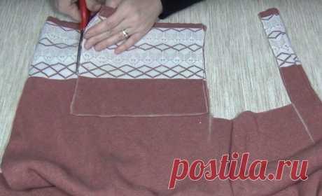 Потрясающее одеяло из старых свитеров Без одеял сложно представить современную жизнь. Однако покупать их в магазине не обязательно. Можно превратить в симпатичное одеяло старые свитера. Что потребуется старые свитера утеплитель хлопок ил...