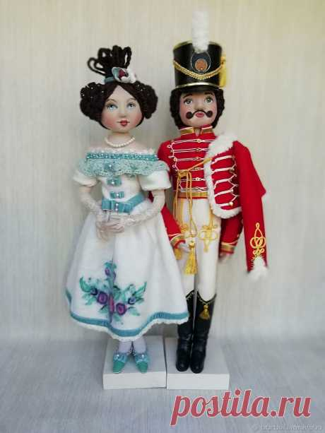 Куклы: Гусарская баллада – заказать на Ярмарке Мастеров – JPKX6RU   Куклы и пупсы, Нижний Новгород