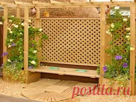 Опоры для клематиса. Фото садовых опор | Дачный участок