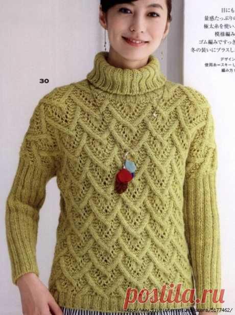 Sweater spokes beautiful pattern