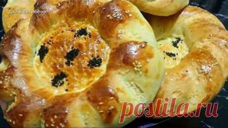 Такие лепешки улетают со стола в один миг!  Узбекские лепешки в духовке / Uzbek bread in the oven