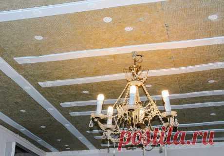Шумоизоляция потолка: особенности установки