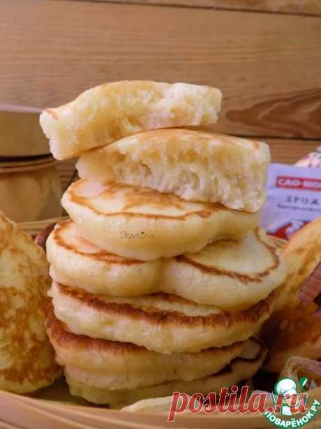 Very magnificent fritters - the culinary recipe