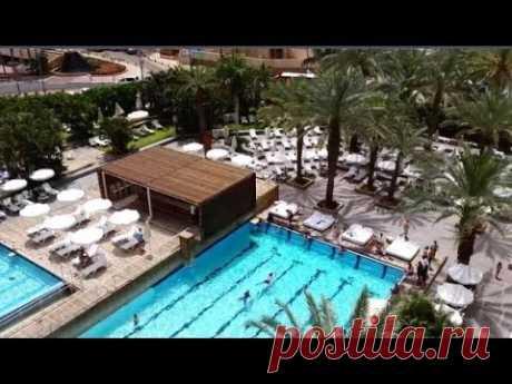 Территория отеля ISROTEL SPORT CLUB 4* .Вид из номера.Бассейн