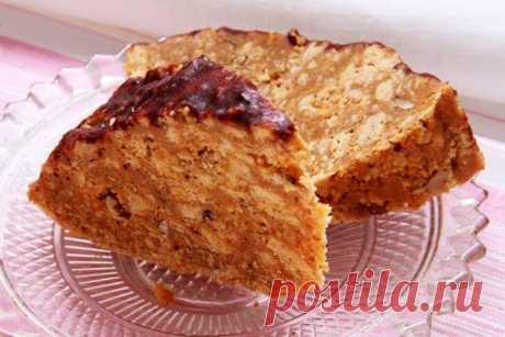 Торт «Муравейник» с грецкими орехами и сгущённым молоком