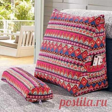 Подушка под спину Подушка под спинуНиже представлены варианты подушек под спину для максимально комфортного отдыха.