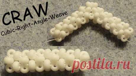 In diesem Video erkläre ich euch, wie ihr den CRAW (Cubic Right Angle Weave) fädelt. In Zukunft werde ich Anleitungen hochladen, bei denen ich auf dieses Vid...