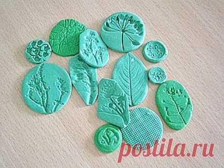 Штампы для полимерной глины / Polymer clay - Ярмарка Мастеров - ручная работа, handmade