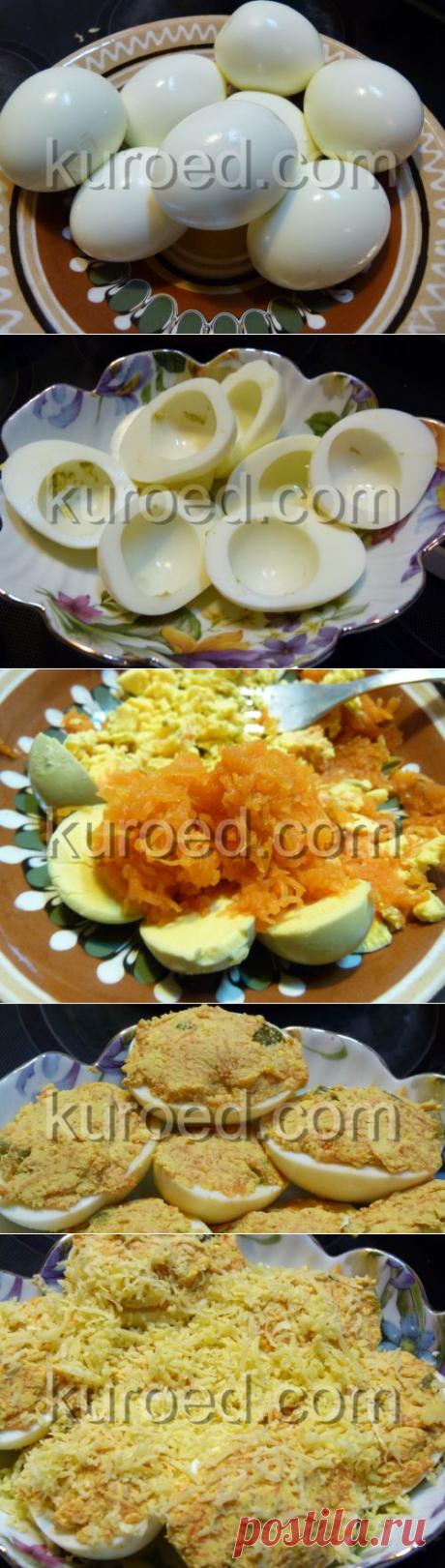 РЕЦЕПТЫ   Фаршированные яйца