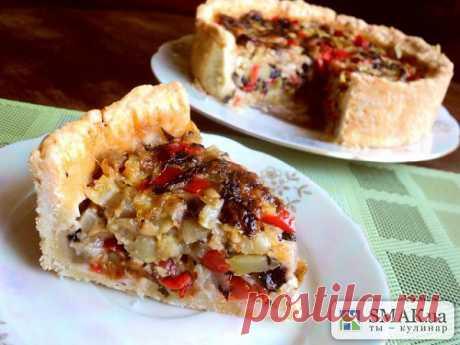 Итальянский овощной пирог. Автор: Людмила Головченко