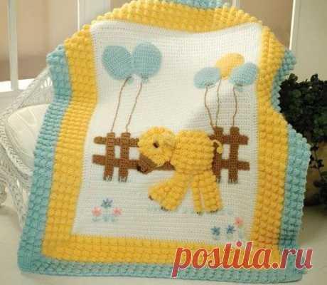 manta de bebé de punto - Mercado artesanal, tejido de punto