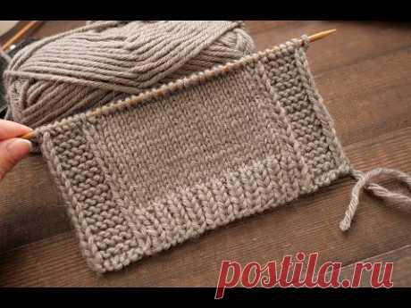 Идеальная цельновязаная планка спицами 👈🏻 One-Piece Knitted Placket 👌🏻