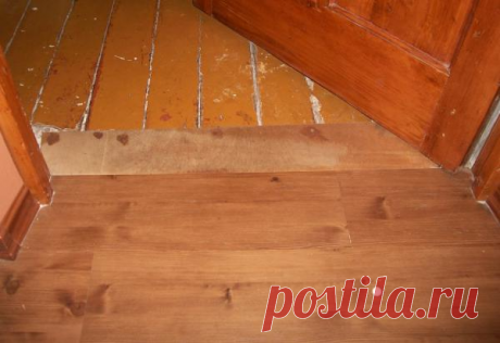 Как законопатить щели в деревянном полу, чтобы не перекладывать его заново