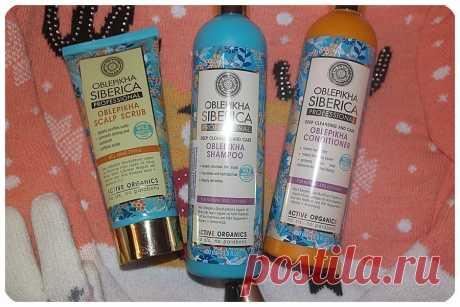 Отзыв: уход за волосами от Oblepikha Siberica
