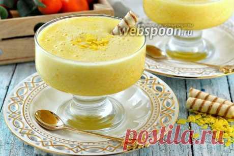 Мусс из консервированных персиков рецепт с фото, как приготовить на Webspoon.ru