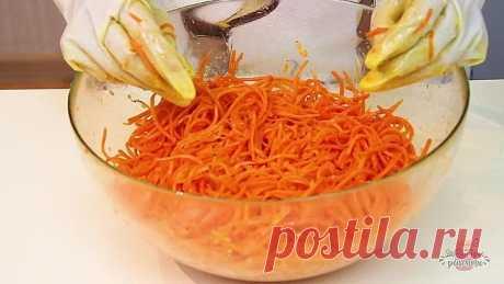 Быстрая Морковка По-Корейски за 10 минут! Самый удачный и простой рецепт!